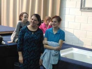 Катя с подругой Аней