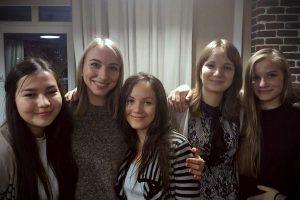Настя с сестрами